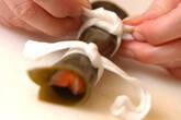 サーモンの昆布巻きの作り方4