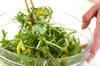 たくあんサラダの作り方の手順2