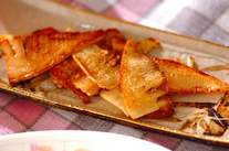 タケノコのバターしょうゆ焼き