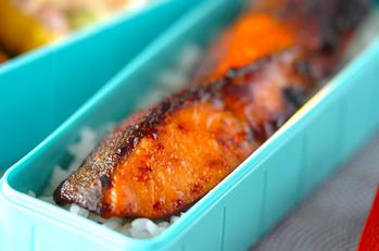 鮭のみそ漬け焼き