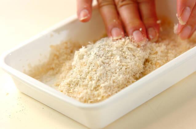 タルタル添え鮭のフライの作り方の手順7