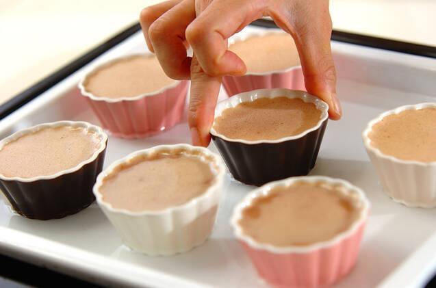 チョコレートブリュレの作り方の手順6