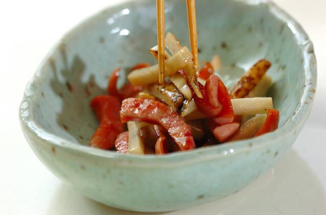 細切りゴボウのサラダの作り方の手順6