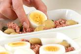 卵とほうれん草のグラタンの作り方1