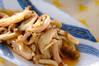 キノコの炒め煮の作り方の手順