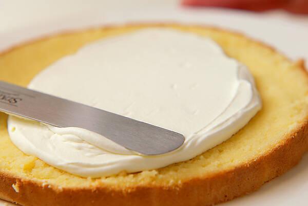 ショートケーキの作り方の手順12