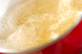 カマボコの白みそ汁の作り方1