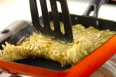 モヤシのソース卵焼きの作り方2
