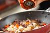 砂肝のゴマドレ炒めサラダの作り方の手順6