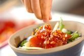ピリ辛マグロ丼の作り方2