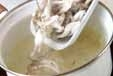 シメジみそ汁・生姜風味の作り方1