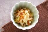 白菜とちくわの甘酢和え