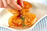玉ネギのガーリックステーキの作り方4