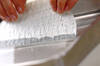 パスタの生春巻きの作り方の手順3