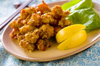 鶏軟骨タンドーリ風味揚