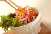 せん切りニンジンのサラダの作り方3