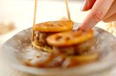 レンコンのはさみ照り焼きの作り方4