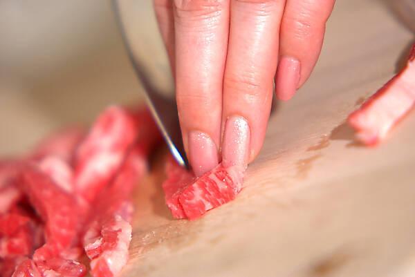 焼肉スティックの作り方の手順2