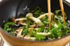 ピーマンとジャコのおかか炒めの作り方の手順3