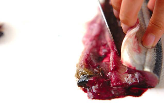 サンマの柚香焼きの作り方の手順1