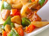 酢豚風テンペの作り方4
