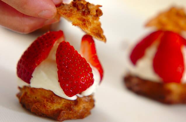 イチゴシュークリームの作り方の手順10