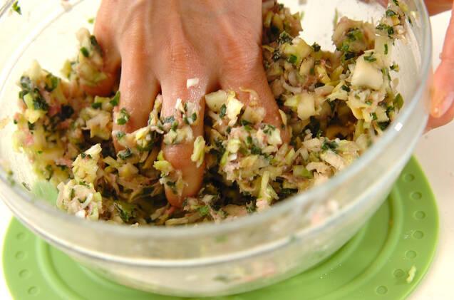 焼き餃子の作り方の手順4