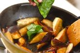 ナスとベーコンのバジル炒めの作り方3