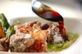 サバの竜田揚げ丼の作り方3