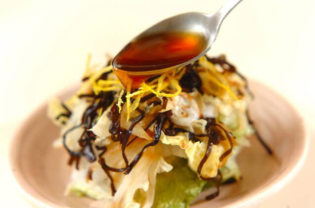 白菜と塩昆布のレンジ蒸しの作り方の手順5