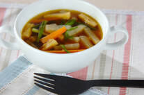 具だくさんカレースープ
