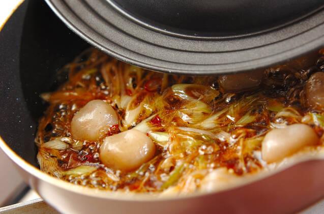 カボチャの中華揚げ煮の作り方の手順4