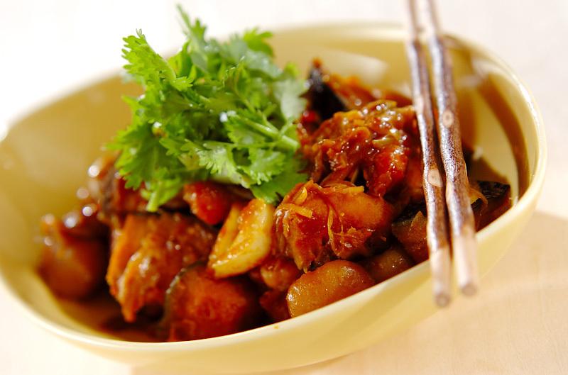 7. カボチャの中華揚げ煮