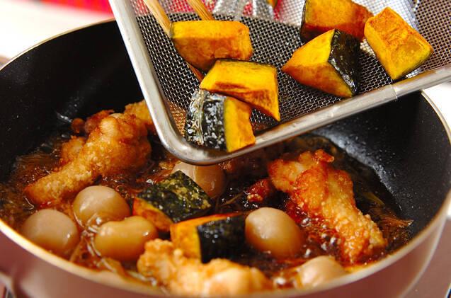 カボチャの中華揚げ煮の作り方の手順5