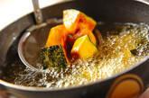 カボチャの中華揚げ煮の作り方1