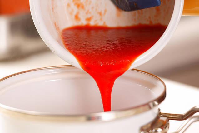 トマトアンニン ミルクスープの作り方の手順4
