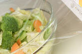 キャベツのレンジサラダの作り方4