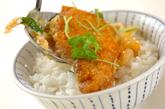 トロトロ卵のカツ丼の作り方4