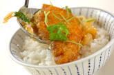 トロトロ卵のカツ丼の作り方9
