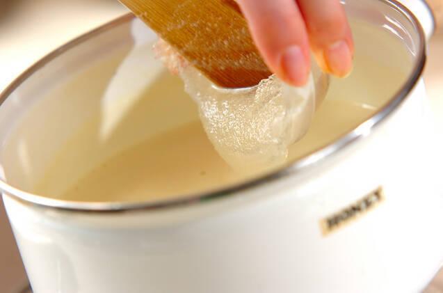 ココナッツプリンの作り方の手順5