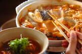 魚のみそキムチ鍋の作り方9