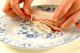 モヤシの生春巻きの作り方2