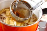 シメジと油揚げのみそ汁の作り方2