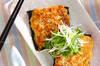 豆腐の照焼きの作り方の手順