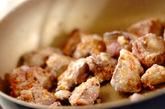 鶏レバーのみそ炒めの作り方2
