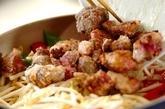 鶏レバーのみそ炒めの作り方3