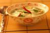 水キムチ風スープの作り方の手順