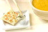 大人のコーンポタージュ ブルーチーズ風味の作り方2