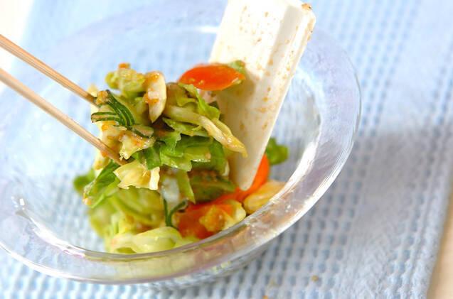 春キャベツのサラダの作り方の手順6