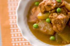 鶏肉と冬瓜のカレー煮